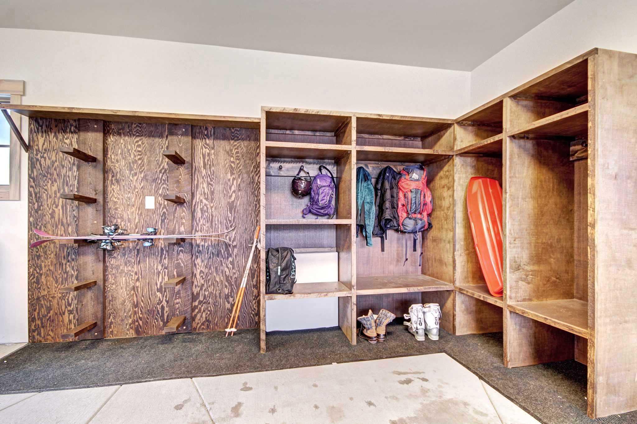 Garage Equipment Storage